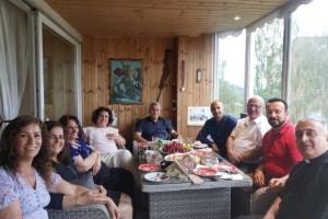 احتفلنا اليوم بمناسبة مرور ٣٤ سنة على الرسامة الكهنوتية للاب روني حنا في النرويج.