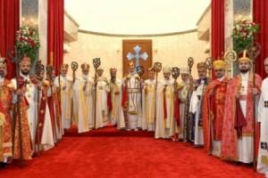 بحضور رسمي وحزبي، تنصيب البطريرك الجديد لكنيسة المشرق الاشورية