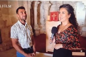 لقاء تلفزيون  DERDOR بلغة الكوردية  مع ابناء شعبنا في قرية هاخى تابعة لمديات تركيا .