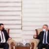 السكرتير العام للحركة يستقبل مدير ناحية عنكاوا