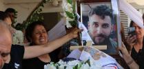 بالصور : وداع مهيب للمأسوف عليه مالك يوحانن في بلدة قبري حيووري (القحطانية) في سوريا