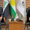 النائب فريد يعقوب يلتقي وزيرة العمل والشؤون الاجتماعية في حكومة اقليم كردستان العراق