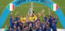 يورو 2020: تتويج إيطاليا بعد فوزها على إنجلترا بركلات الترجيح