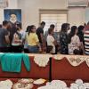 ضمن مهرجان ديانا الثقافي الرياضي السنوي، افتتاح معرض فني مشترك للأعمال اليدوية والرسومات التشكيلية (صور)